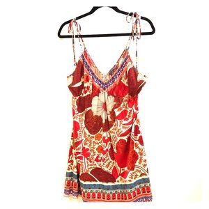 Hale Bob Tank Top Tunic With Floral Print